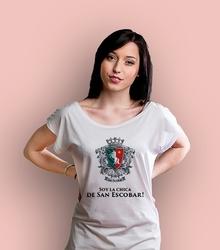 Soy la chica t-shirt damski biały xxl