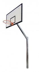 Zestaw kosz do koszykówki z certyfikatem na orliki wysięgnik 120 cm