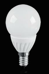 Żarówka LED - 12 - SMD2835 - E14 - 4W - biała ciepła - GLOBE LE