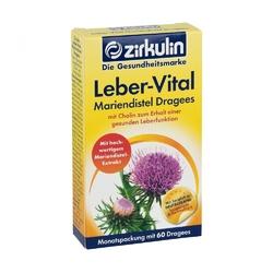 Zirkulin leber-vital drażetki na wątrobę z ostropestu plamistego