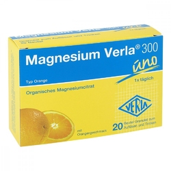 Magnesium verla 300 granulki w saszetkach