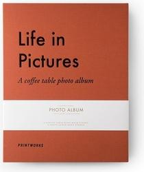 Album na zdjęcia printworks life in pictures pomarańczowy
