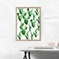 Kaktusy wzór - plakat wymiar do wyboru: 42x59,4 cm
