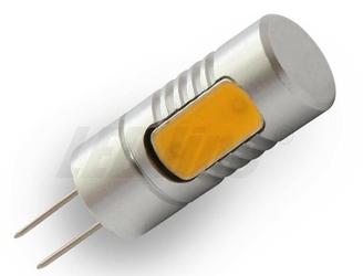 Żarówka led - cob g4 - 3w - 12v dc - biała ciepła le