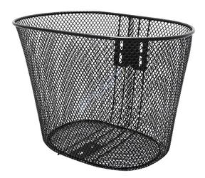 Koszyk na przód dziecięcy z uchwytem 175050 czarny