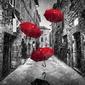 Parasolki - plakat wymiar do wyboru: 70x50 cm