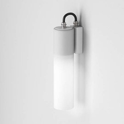 Aqform :: lampa ścienna  kinkiet modern glass tube led biała wys. 28,5 cm