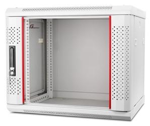 Szafa rack getfort 19 cali 9u 600x600 wisząca szara - możliwość montażu - zadzwoń: 34 333 57 04 - 37 sklepów w całej polsce