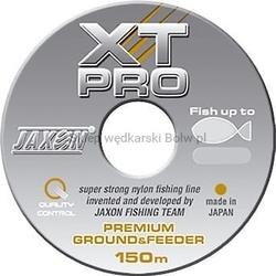 Żyłka jaxon xt-pro premium ground  feeder 0,30mm 17kg 150m