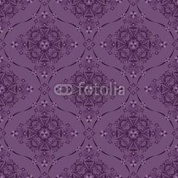 Plakat na papierze fotorealistycznym bez szwu luksusowy kwiatowy wzór