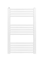 Grzejnik łazienkowy york - wykończenie proste, 500x800, białyral - biały