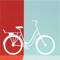 Szablon malarski rower spacerowy 2329