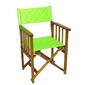 Krzesło drewniane, składane, jasna zieleń