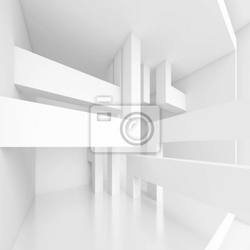 Naklejka panoramiczny background interior