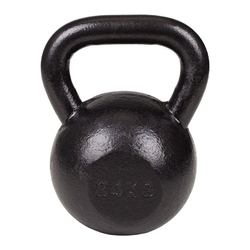 Hantla żeliwna kettlebell 24 kg hs - marbo sport - 24 kg