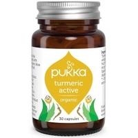 Turmeric active kurkuma dla aktywnych 30 kapsułek, pukka suplement diety