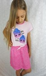 Sukienka bawełniana dla dziewczynki lol surprise
