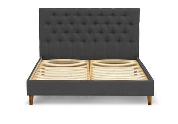 Łóżko aklejor 160x200 antracyt