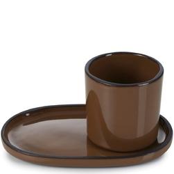 Filiżanka do espresso porcelanowa 80 ml caractere revol tonka rv-652692-4