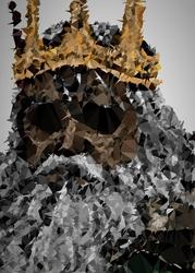 Polyamory - gwyn, dark souls - plakat wymiar do wyboru: 70x100 cm