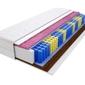 Materac kieszeniowy warna molet max plus 195x220 cm średnio  bardzo twardy 2x kokos