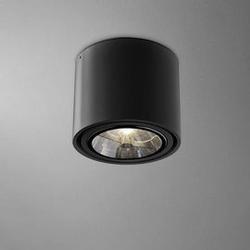 Aqform :: oprawa natynkowa tuba 111 czarna wys. 11,5 cm
