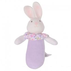 Meiya  alvin - havah bunny organic soft squeaker z kauczukową główką
