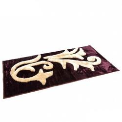 Dywan shaggy, wzorzysty  80 x 150 cm - fioletowy