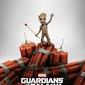 Guardians of the galaxy vol. 2 groot dynamite - plakat z filmu
