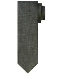 Zielony krawat tkany z jedwabiu