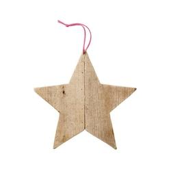 Gwiazda drewniana bloomingville