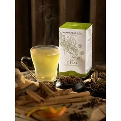 Hampstead   life chai green tea - herbata zielona z aromatycznymi przyprawami saszetki 40g   organic
