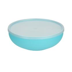 Miska plastikowa z pokrywą do przechowywania sagad 1,85 l turkusowa