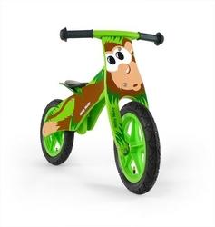 Milly mally duplo małpka drewniany rowerek biegowy + lampka led