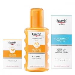 Eucerin sun 50 zestaw przeciwsłoneczny