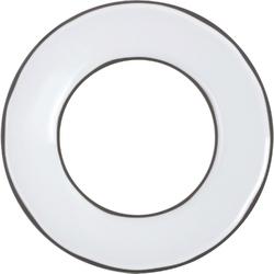 Talerz do serwowania z miejscem na miseczkę caractere revol biała rv-652811-1