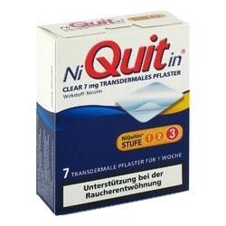 Niquitin clear 7 mg pflaster, transdermal