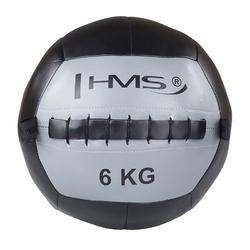 Piłka do ćwiczeń wall ball wlb6 6 kg - hms - 6 kg