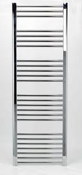 Grzejnik łazienkowy york - wykończenie proste, 600x1500, chromowany