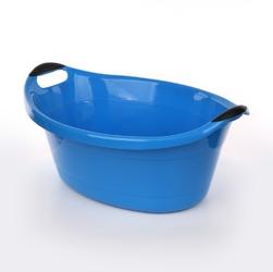Miska  wanienka plastikowa artgos owalna niebieska 14 l