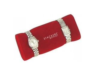 Poduszka na zegarki Stackers czerwona