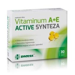 Vitaminum a+e active x 30 kapsułek