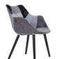 Zuiver :: krzesło twelve patchwork szare