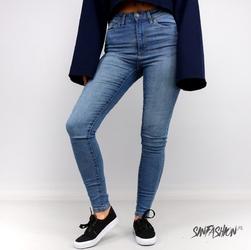 Jeansy uc high waist blue