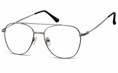 Oprawki okulary  pilotki zerówki korekcyjne 922a grafitowe
