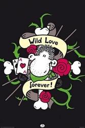 Sheepworld wild love - plakat