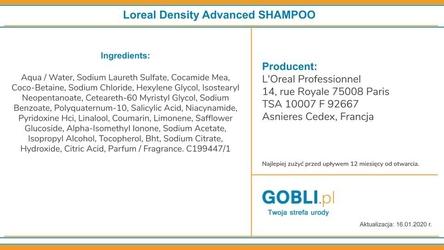 Loreal density advanced, szampon do włosów na wypadanie 500ml