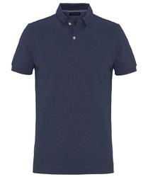 Męska koszulka polo profuomo w kolorze indygo xxl