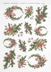 Papier ryżowy ITD A4 R202 Boże Narodzenie