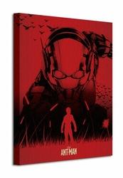 Ant Man Silhouette - Obraz na płótnie